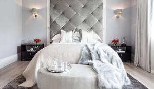 غرفة نوم تنفيذ Adelina Iliev Photography