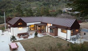 조감도: 주택설계전문 디자인그룹 홈스타일토토의  주택