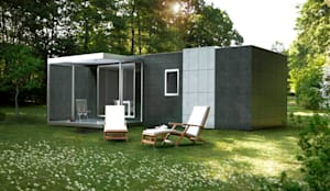 Casa prefabricada de 100 m2 casas cube von casas cube - Cube casas prefabricadas ...