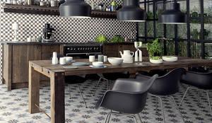 Projekty,  Kuchnia zaprojektowane przez Ceramiche Addeo