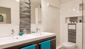 une salle de bains lambiance masculine - Salle De Bain Wenge Zen
