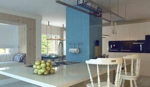 Nuevo Tasarım - Ankarada bir ev: modern tarz Mutfak