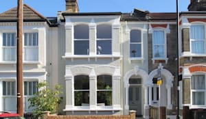 Narbonne Avenue Clapham: classic Windows & doors by Bolans Architects