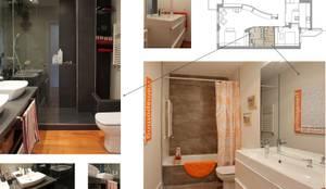Salle de bain de style de style Moderne par elementos interiorismo y diseño