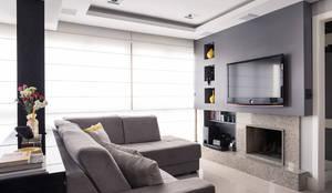 modern Living room by Blacher Arquitetura