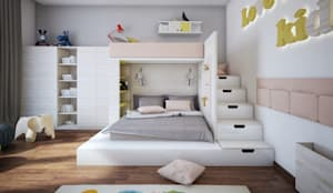 Cuartos infantiles de estilo minimalista por DA-Design