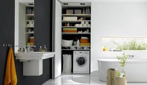 Projekty,  Łazienka zaprojektowane przez Burkhard Heß Interiordesign