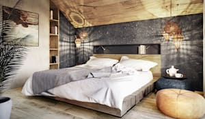 modern Bedroom by razoo-architekci