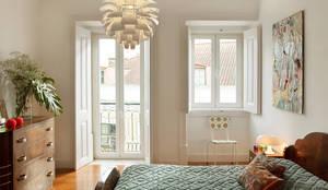 Chambre de style de style eclectique par Tiago Patricio Rodrigues, Arquitectura e Interiores