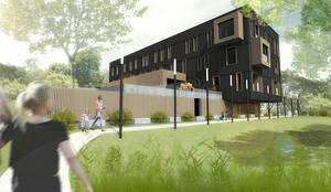 Extension r novation d 39 une maison brest di trace for O architecture brest