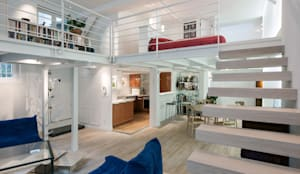 Salas de estilo moderno por Fables de murs