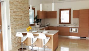 Cuisine de style de style Moderne par Lucia D'Amato Architect