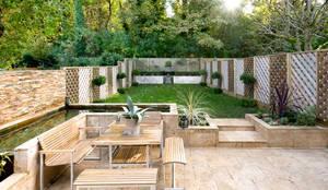 Claremont Road: modern Garden by Will Eckersley
