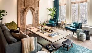 Projekty,  Hotele zaprojektowane przez Ethnic Chic Home Couture