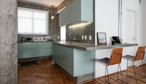 Manoel Guedes: Cozinhas industriais por PM Arquitetura