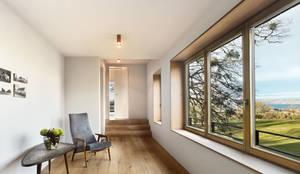 Ingresso, Corridoio & Scale in stile in stile Moderno di Spandri Wiedemann Architekten