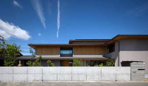外観1:  井上久実設計室が手掛けた家です。