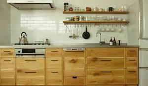 クレバスハウスのキッチン: 株式会社seki.designが手掛けたキッチンです。