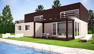 Casa prefabricada cube 175 casa piloto en barcelona - Cube casas prefabricadas ...