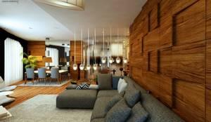 Salas de estilo moderno por GN İÇ MİMARLIK OFİSİ