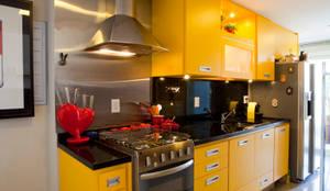 ห้องครัว by Asenne Arquitetura