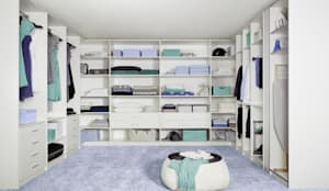 غرفة الملابس تنفيذ CARE MOBILIARIO MADRID,S.L.