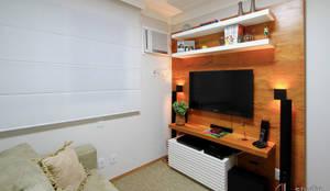 Salas de entretenimiento de estilo  por Camila Tannous Arquitetura & Interiores