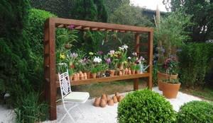 Projekty,  Ogród zaprojektowane przez Línea Paisagismo.Claudia Muñoz