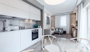 Salones de estilo moderno de NG-STUDIO Interior Design