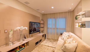 classic Media room by Dauster Arquitetura