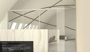 Raumteiler, Wand  Und Deckendekoration, Glastrennwand
