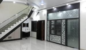 LALIT KUMAR FULWANI: modern Corridor, hallway & stairs by MAA ARCHITECTS & INTERIOR DESIGNERS
