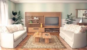 Sonmez Mobilya Avantgarde Boutique Modoko – Rustic Salon Takımı / Özel:  tarz Oturma Odası