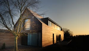 Huizen door STEINMETZDEMEYER architectes urbanistes