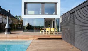 Projekty,  Taras zaprojektowane przez STEINMETZDEMEYER architectes urbanistes