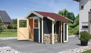carport kirn von karibu holztechnik gmbh homify. Black Bedroom Furniture Sets. Home Design Ideas
