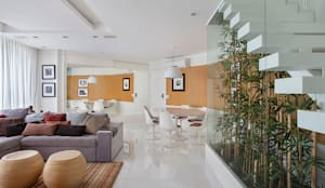 Jardines de invierno de estilo moderno de Cadore Arquitetura