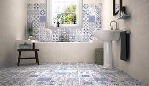 Baños de estilo moderno por Gama Ceramica y Baño