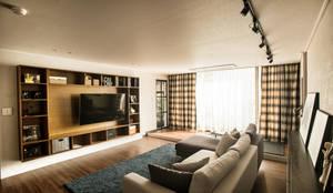 Salas de estar modernas por (주)바오미다