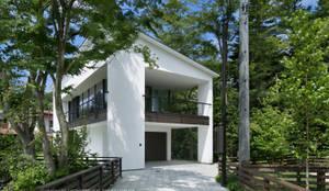 外観~035カルイザワハウス: atelier137 ARCHITECTURAL DESIGN OFFICEが手掛けた家です。,