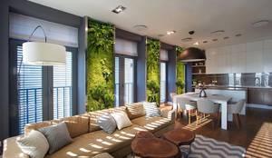 Casas de estilo clásico por GREEN MARKET DECO S.A. DE C.V.