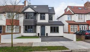 Whitton Drive: modern Houses by GK Architects Ltd
