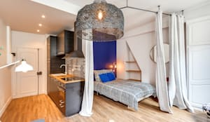 PARIS 4 30m2: Chambre de style de style Scandinave par blackStones