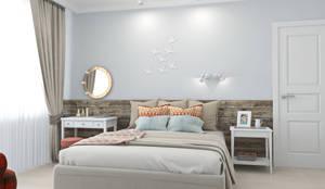 Ekaterina Donde Design: iskandinav tarz tarz Yatak Odası