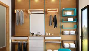 غرفة الملابس تنفيذ Penintdesign İç Mimarlık