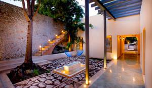 colonial Garden by Taller Estilo Arquitectura