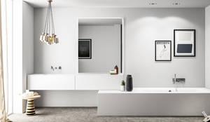 Baños de estilo  por Nova Cucina