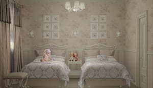 غرفة الاطفال تنفيذ Eclectic DesignStudio