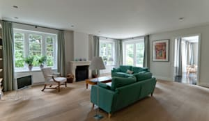 woonkamer:  Woonkamer door Snellen Architectenbureau