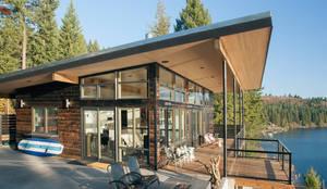 Projekty,  Domy zaprojektowane przez Uptic Studios,